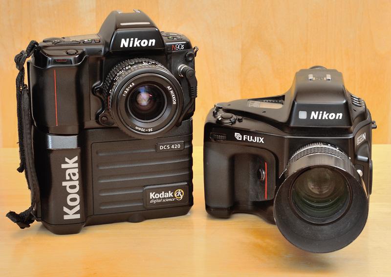 Through The Nikon F Mount Nikon E2n And Kodak Dcs 420