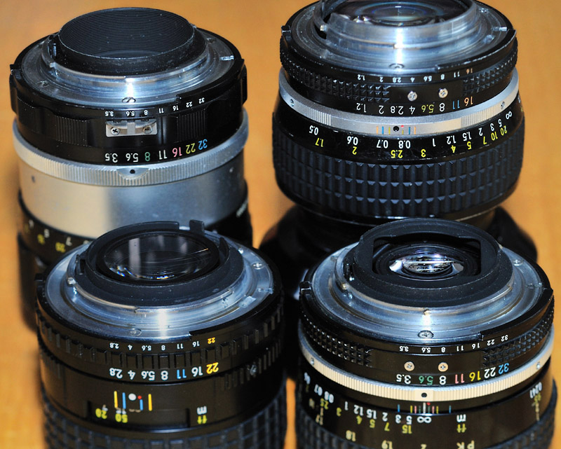 through the Nikon F-Mount - using older lenses on your Nikon DSLR